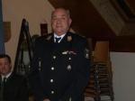 Ehemaligen Landesfeuerwehr - Kommandantenstv. von Slowenien Max Lesnik